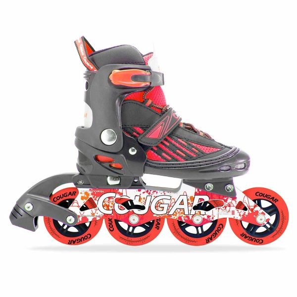 Patines-en-Linea-Semiprofesionales-Ajustables-Cougar-New-MS833LG-2-Rojo_500x0