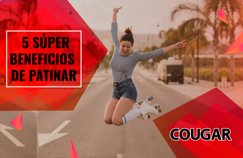 5 súper beneficios de patinar